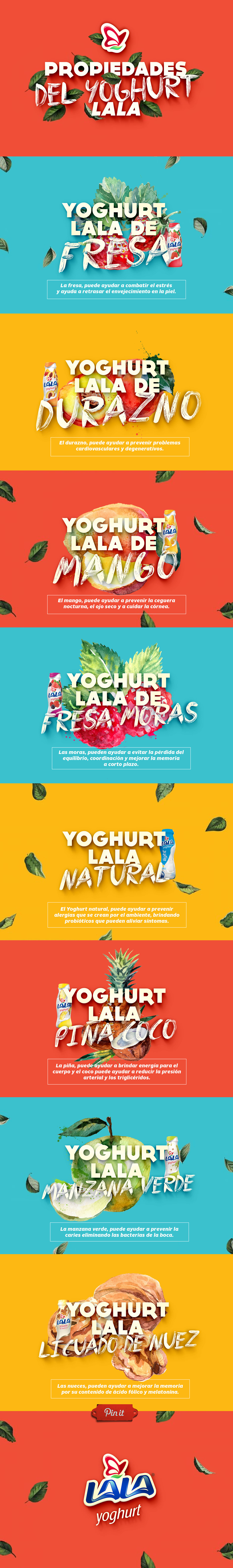 Conoce las #propiedades del #Yoghurt #LALA y sus beneficios. ¿Cuál prefieres para tu día?