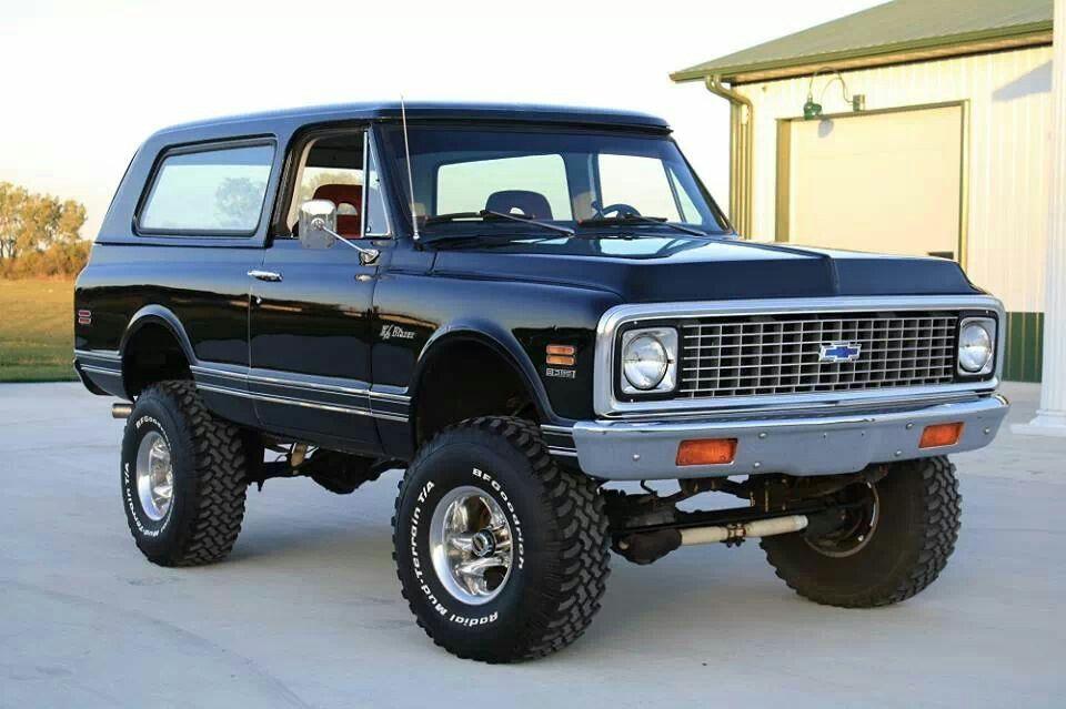 71 Chevy K 5 Blazer Chevy Trucks Trucks Chevy Trucks Accessories