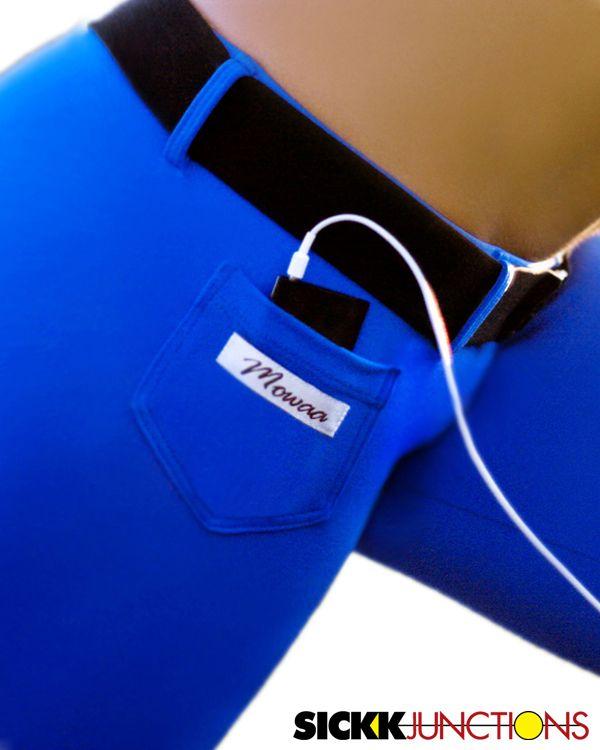 Practical Fitness Wellness: Brazilian Workout Wear: IPod Capri. Cute And Practical