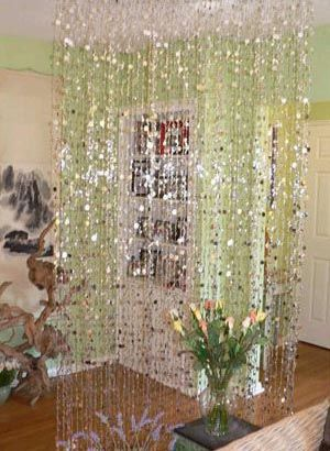 Room · Hanging Beaded Curtain Room Dividers ...