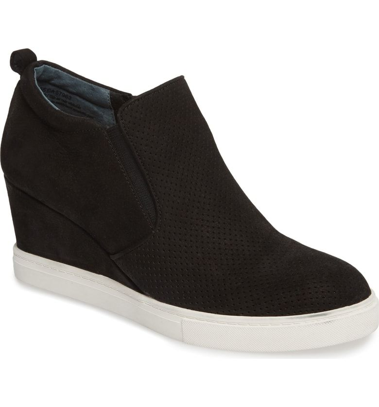 Wedge sneakers style, Wedge tennis shoes
