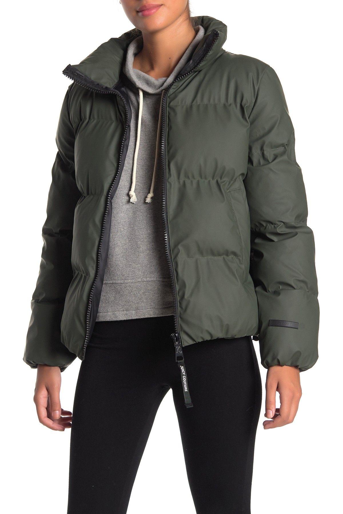 Juicy Couture Cozy Zip Puffer Jacket Nordstrom Rack Juicy Couture Jackets Puffer Jackets [ 1800 x 1200 Pixel ]