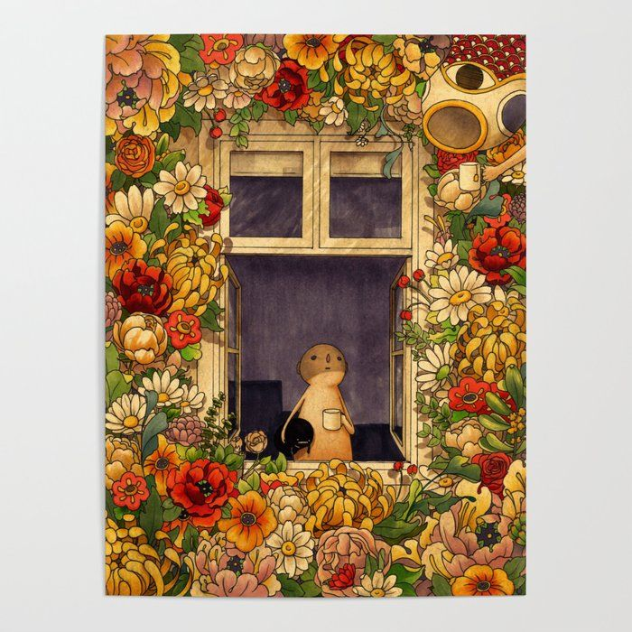 Flower Garden Art Poster by Felicia Chiao - 18