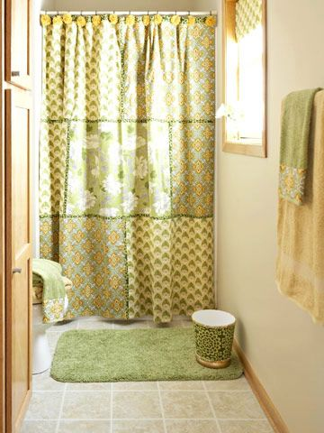 Easy Decorating Updates With Fabric Patchwork Curtains Decor