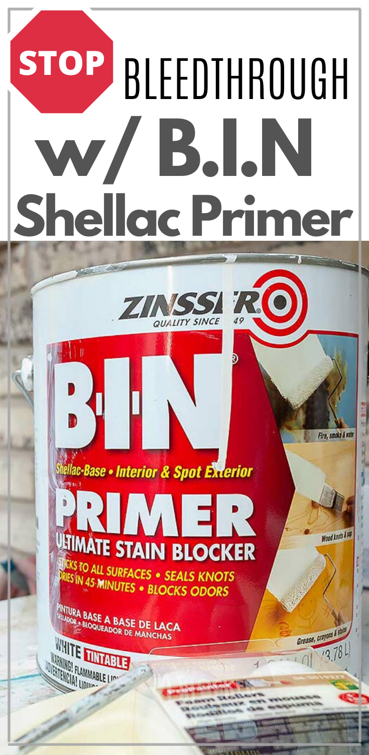 Stop BleedThrough with BIN Shellac | Tips on How To Stop Bleedthrough | Salvaged Inspirations  #siblog #salvagedinspirations #paintedfurniture #furniturepainting #DIYfurniture #furniturepaintingtutorials #howto #furnitureartist #furnitureflip #salvagedfurniture #furnituremakeover #beforeandafterfurnuture #paintedfurnituredieas #dixiebellepaint #redesignwithprima