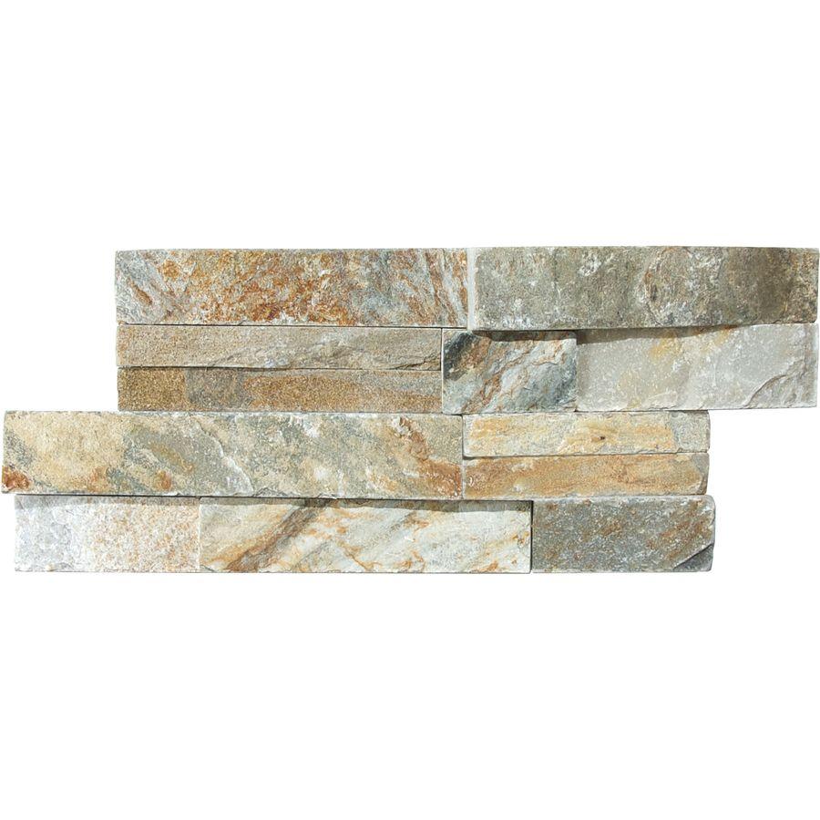 Backsplash loweus gold natural stone