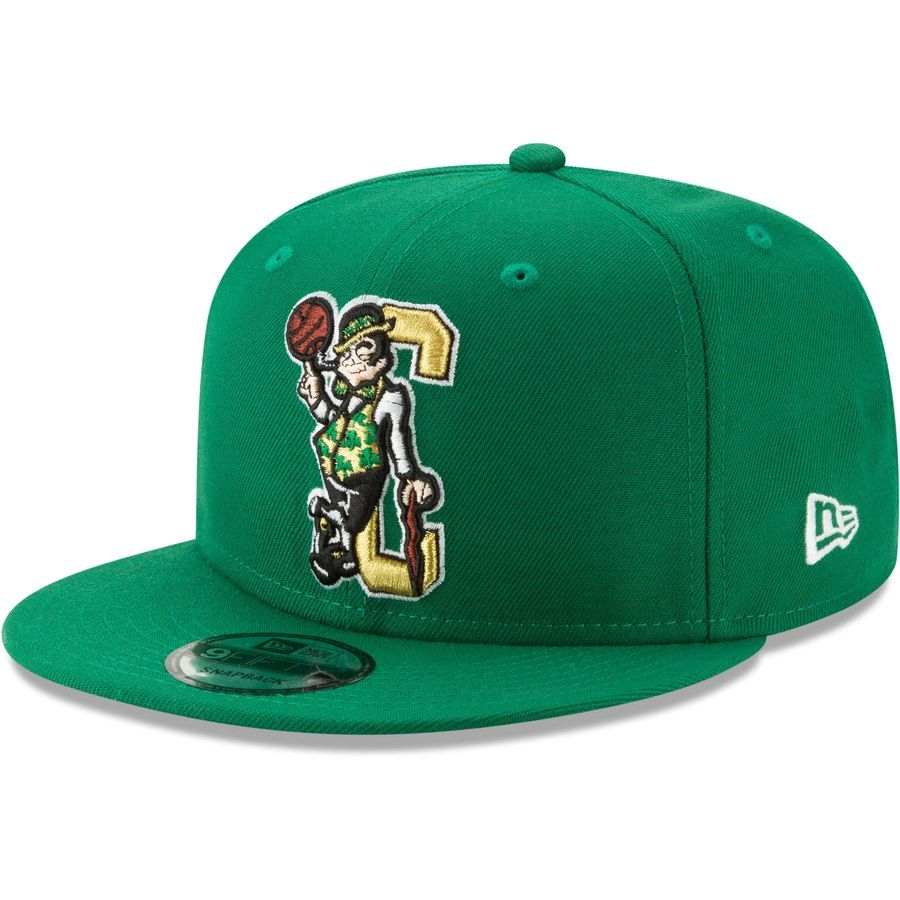 ee4f7e4ade21b2 Men's Boston Celtics New Era Green Back Half OTC 9FIFTY Adjustable Hat,  Your Price: $31.99