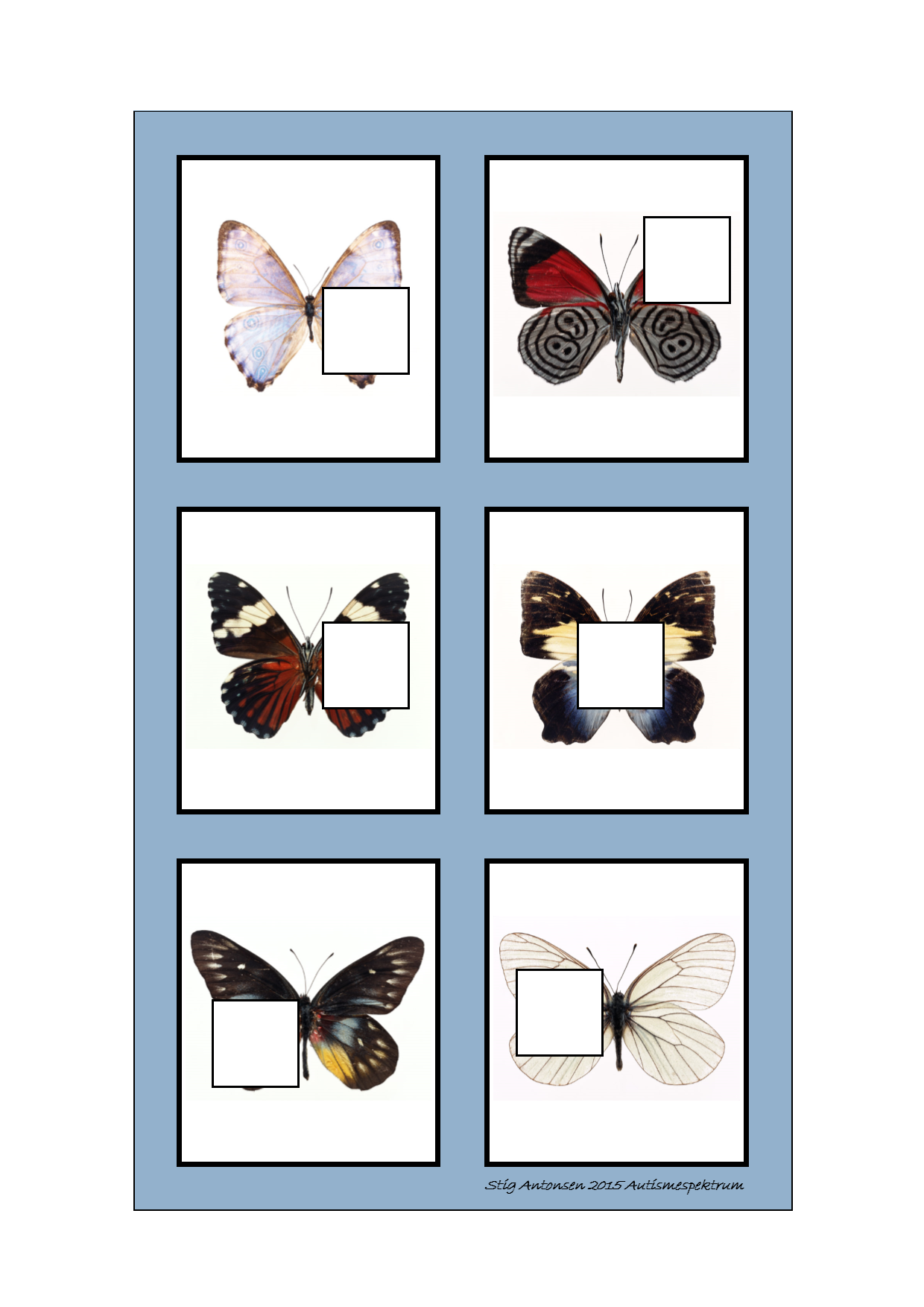 Board for the puzzle game. Find the belonging tiles on ...