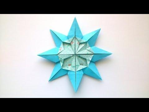 Photo of Origami Christmas Snowflake – Origami Star – Star Doris