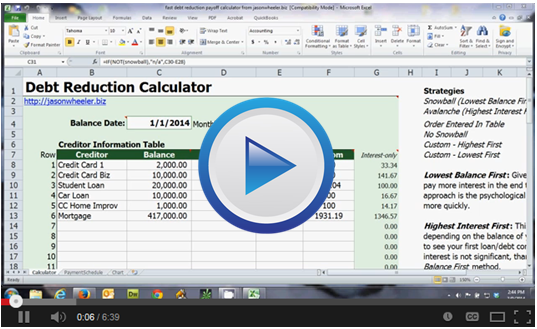 pay off debts fast debt reduction sheet training worksheet download