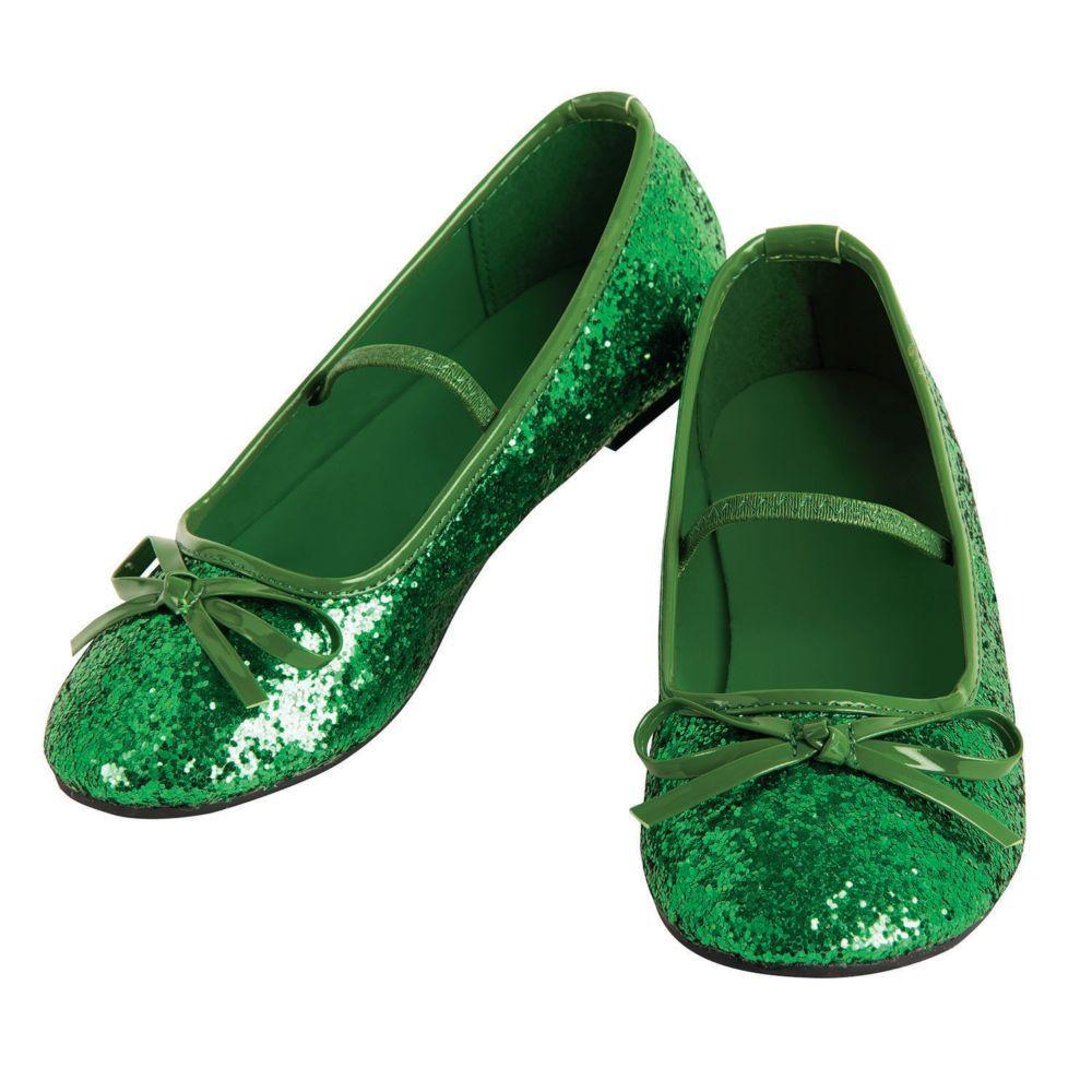Girl S Green Ballet Shoes Extra Small En 2020