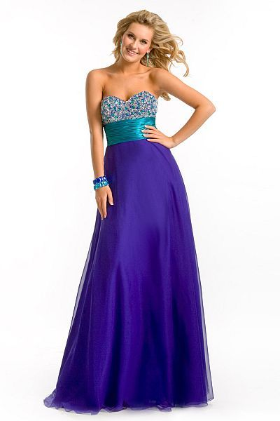Like The Waist Bridesmaid Dresses Wedding Blue Dress Purple French Novelty