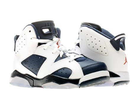 8293992cd4b0 Nike Air Jordan 6 Retro (PS) Boys Basketball Shoes 384666 130 on Sale Nike