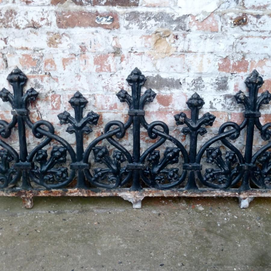 We Have Six Sections Of Original Victorian Railings Made From