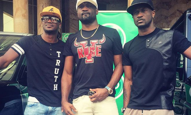 "At Last! Peter, Paul ""P-Square"" & Jude Okoye have reconciled – See what they just posted!"