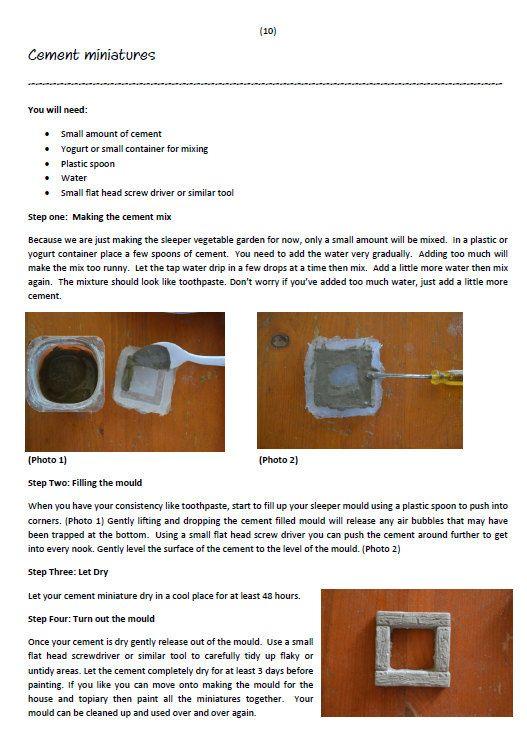 Garden the pdf cement