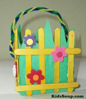 Pin by alejandra pamatz on preschool pinterest easter basket craft idea for preschool and kindergarten negle Choice Image