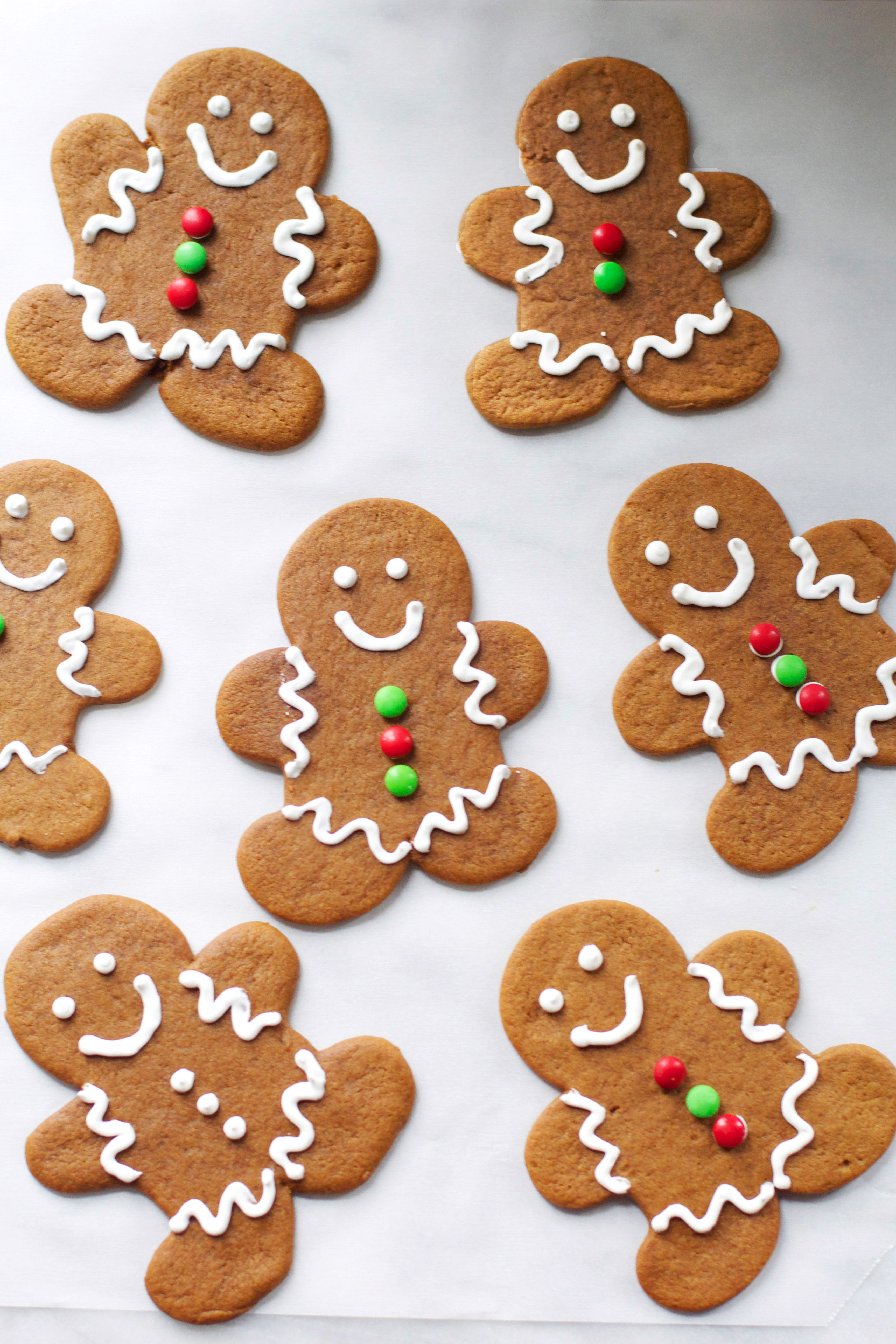 Soft & Chewy Gingerbread Men Recipe Gingerbread man