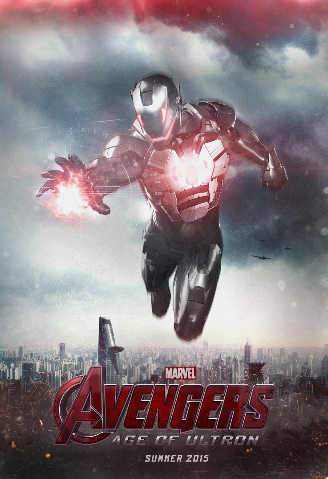 The Avengers 2 Ultron Design