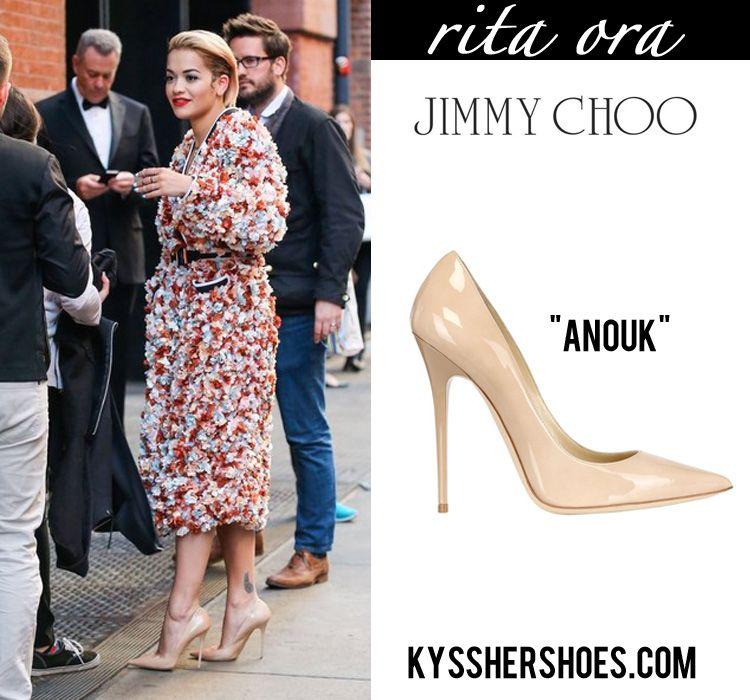 93a9383c837 Rita Ora in Jimmy Choo Anouk Pumps  3 One of my favorite pumps ...