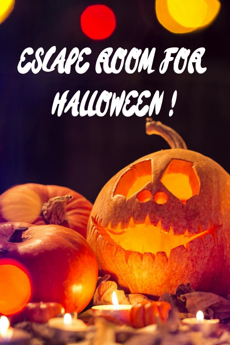 Download your escape room for halloween and transform your