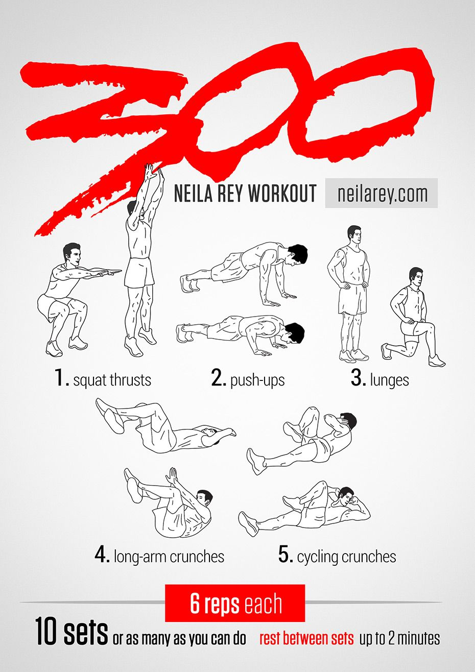 collection of free visual workouts by neila rey workout