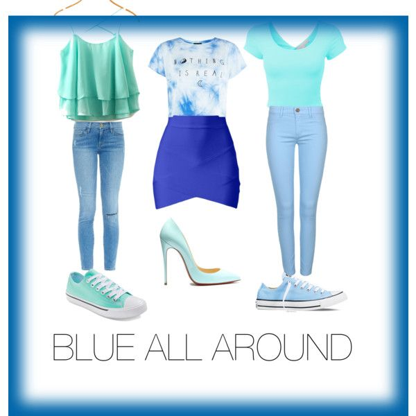 BLUE UNIVERSE by livinlifewithlauren on Polyvore featuring polyvore fashion