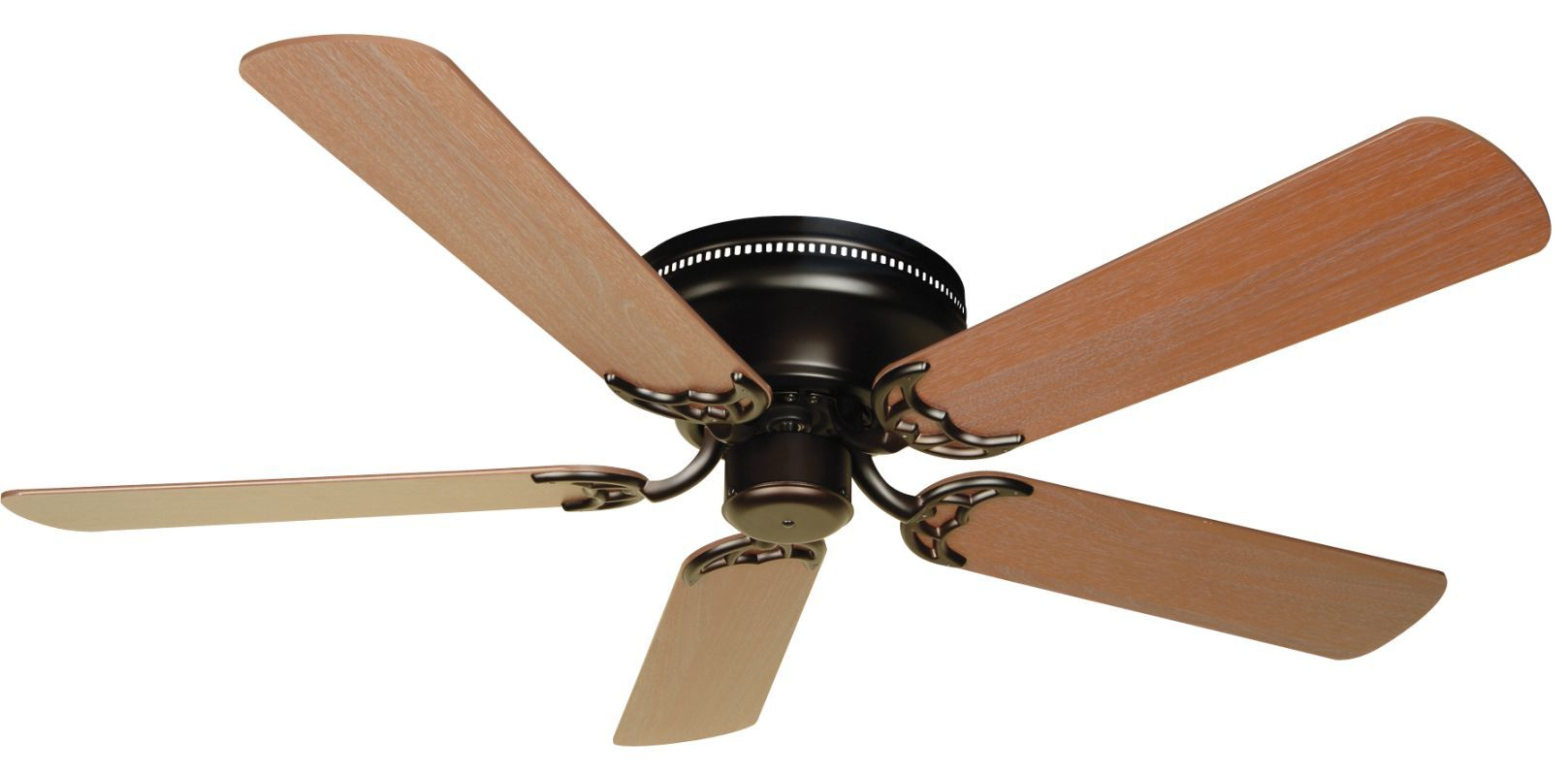 """Craftmade K10686 Contemporary Flushmount Indoor Ceiling Fan with Five 52"""" Plus S Oiled Bronze Fans Ceiling Fans Indoor Ceiling Fans"""