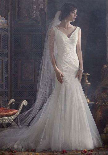 David's Bridal  Galina Signature Style SPK583