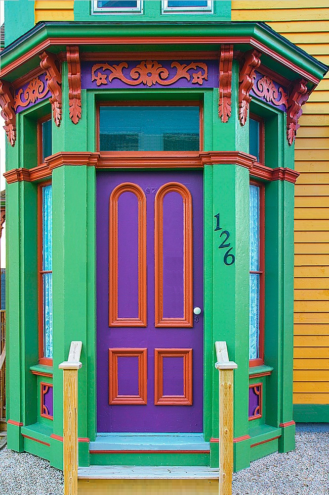 Door in Lunenburg Nova Scotia Canada by Barrett u0026 MacKay via allcanadaphotos.com & Door in Lunenburg Nova Scotia Canada by Barrett u0026 MacKay via ...