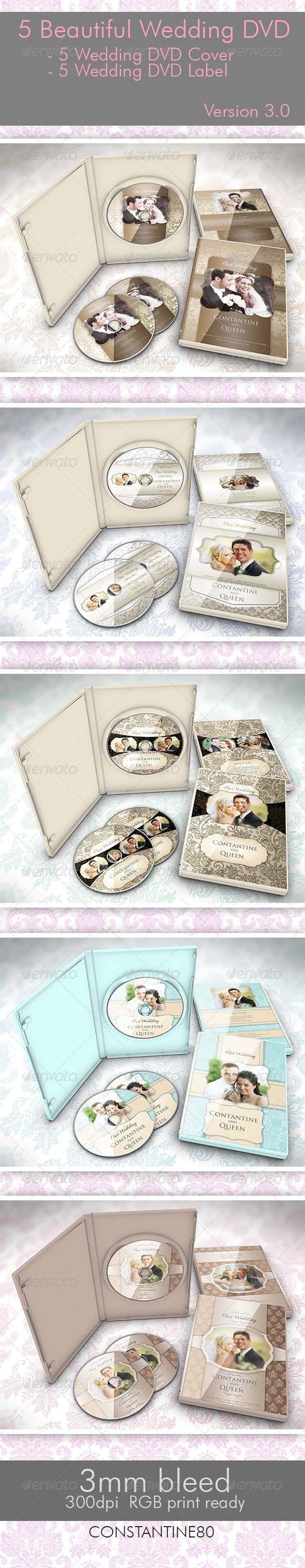 wedding invitation design psd%0A   Beautiful Wedding DVD Ver      Print TemplatesPsd TemplatesInvitation