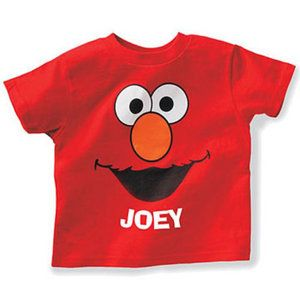 1976 At Walmart Personalized Sesame Street Kids T Shirt Elmo
