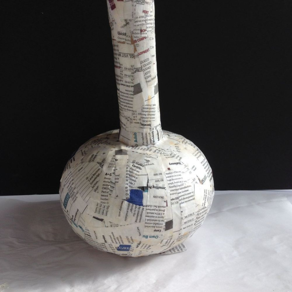 How to make paper mache vases from balloons paper mache craft how to make paper mache vases from balloons reviewsmspy
