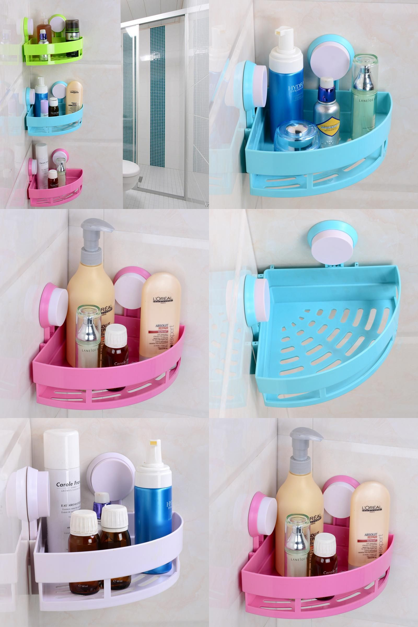 Visit To Buy Icd60009 Fashion Space Plastic Bathroom Shelf Abs Corner Shelf Storage Bath Basket Bat Cheap Bathroom Accessories Storage Shelves Corner Shelves [ jpg ]