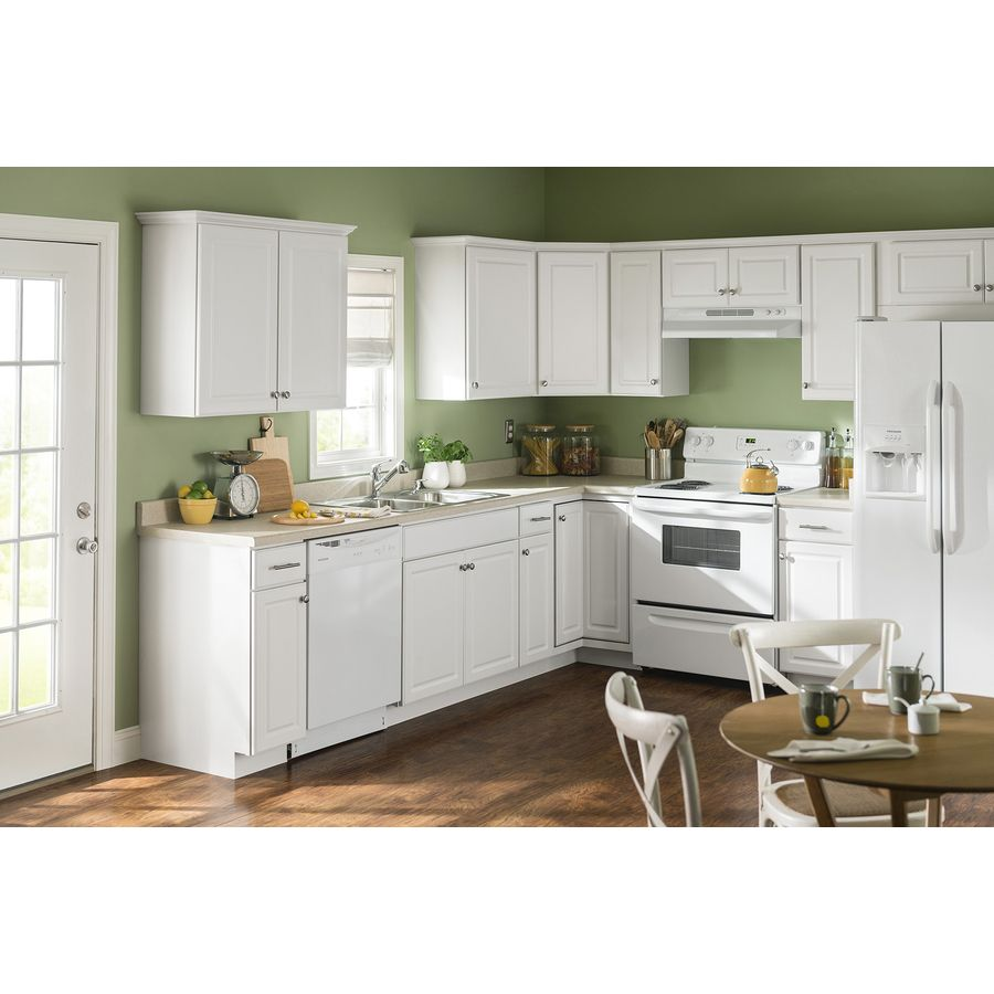 Shop Kitchen Classics Concord 36 In W X 35 In H X 23 75 In D White Door And Drawer Base Cabinet At Lowes Co Kitchen Interior Kitchen Inspirations Home Kitchens