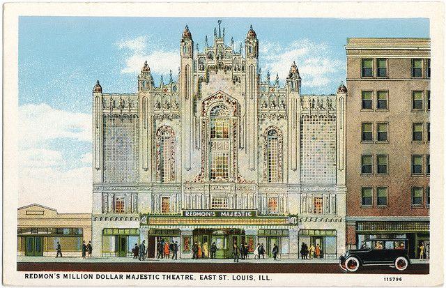 Redmon S Majestic East St Louis Il 1928 East St Louis St Louis Belleville Illinois
