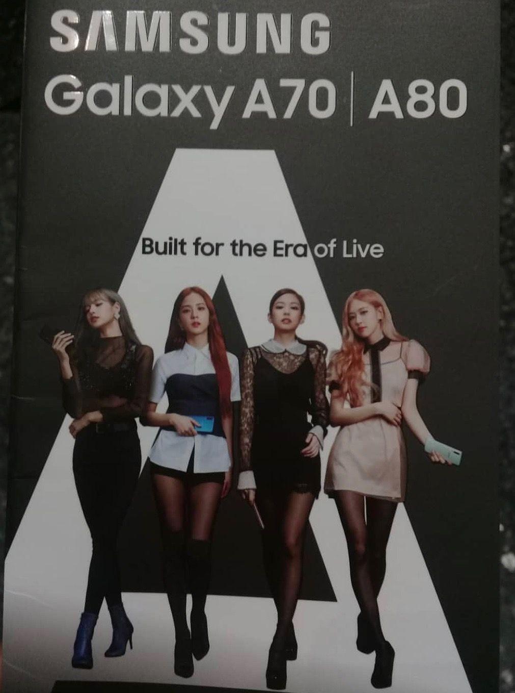 Blackpink X Samsung A70 A80 Blackpink Jennie Pin On