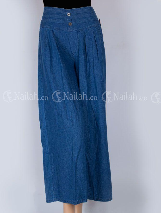 Celana Kulot Jeans Zahirah Nailah Celana Kulot Celana Legging