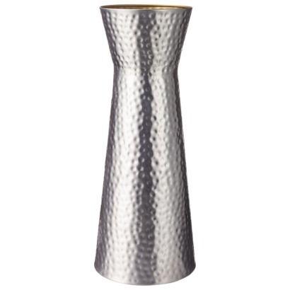 Threshold Hammered Metal Floor Vase 22