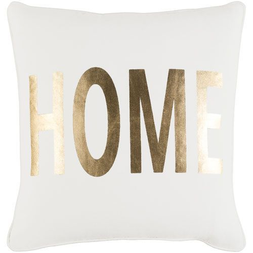 Glyph Home 18-Inch Pillow Cover and Poly Insert