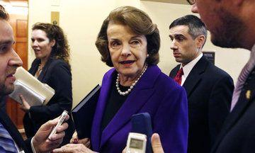 Dianne Feinstein Shows The Senate Why It S Important To Have Women In Power Dianne Feinstein Senate Political Videos