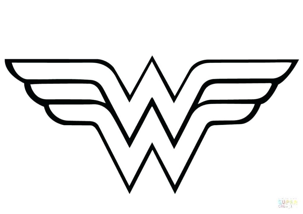 skittles coloring page Google Search Wonder woman logo