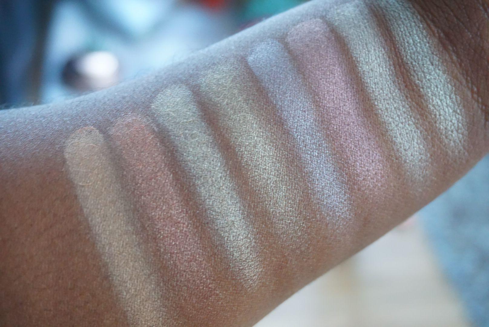 Makeup Revolution x Soph Highlighter Palette Review