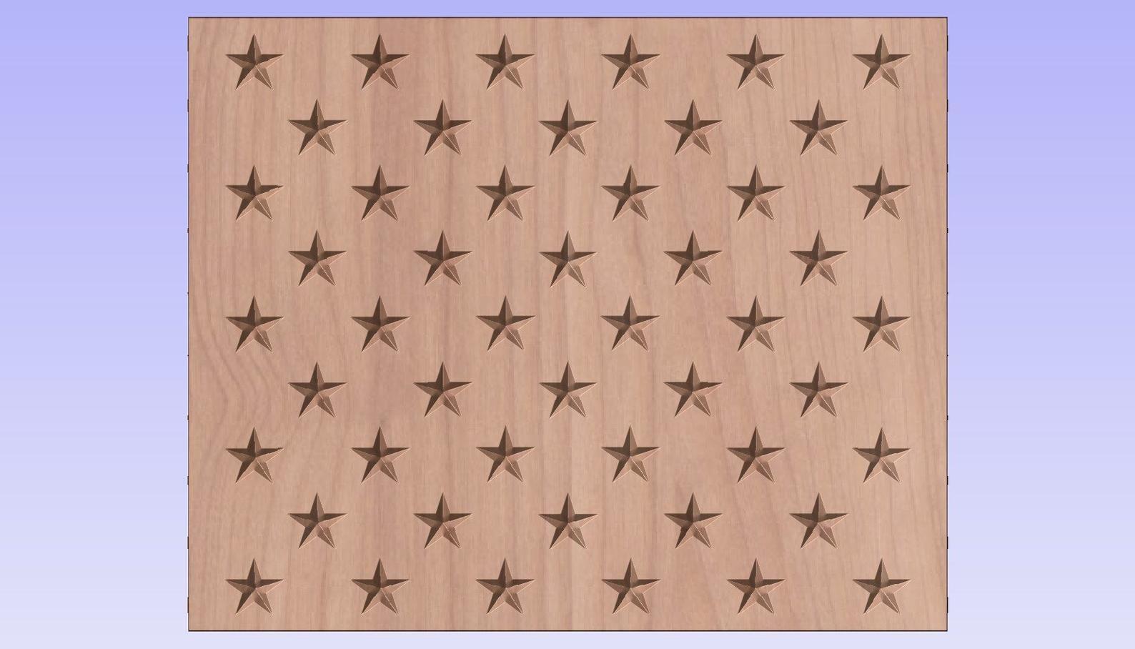 50 Star Vcarve Union Crv File Etsy Digital Svg Etsy Dxf