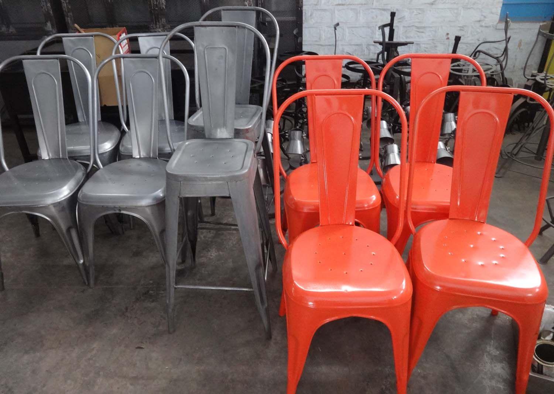 Vintage Chair Tolix Chair Restaurant Chair Restaurant Furniture