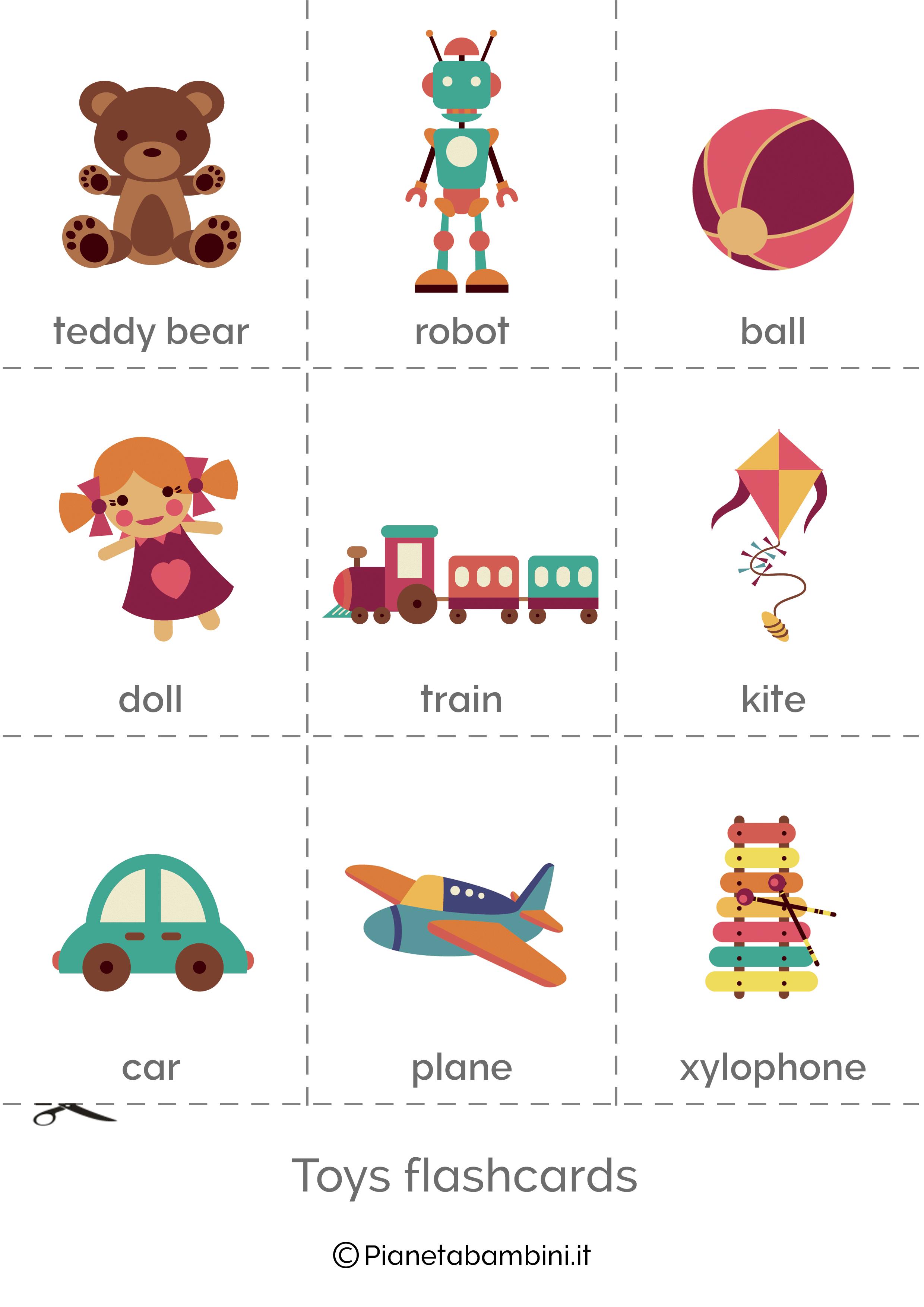 картинки игрушек на английском это возможно отрезанной