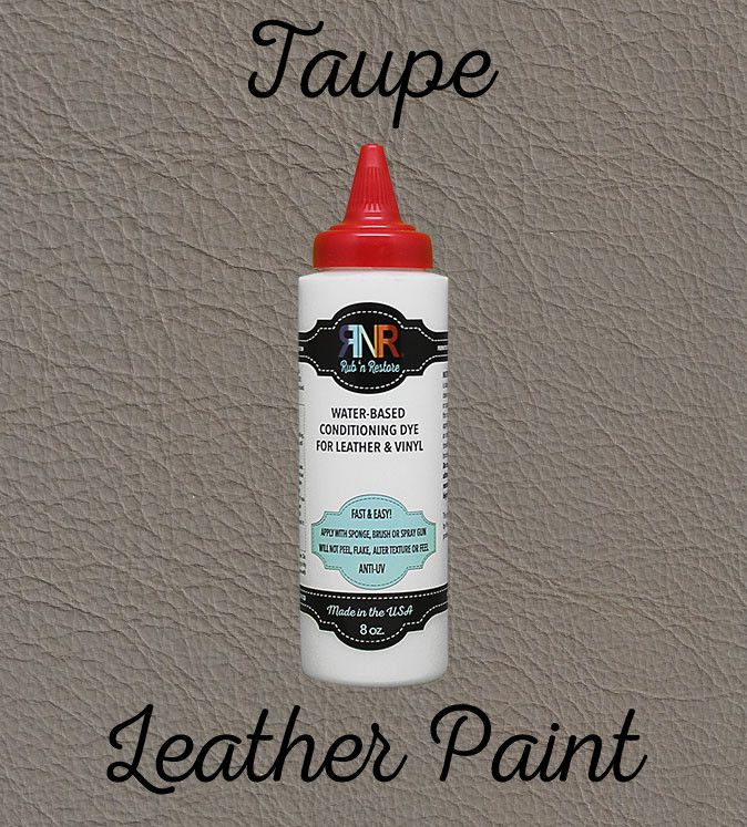 Taupe Vinyl Amp Leather Dye Diy Leather Dye Leather