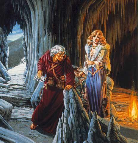 Raistlen Goldmoon Dragonlance Dragonlance Chronicles D border=