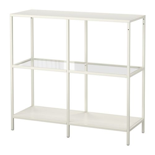 vittsj shelf unit white glass ikea regal und wirken. Black Bedroom Furniture Sets. Home Design Ideas