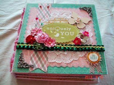 Scrapbooking by Phyllis: Premade *Uniquely You* Scrapbook Album